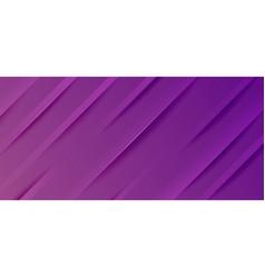 Dynamic line purple web banner vector
