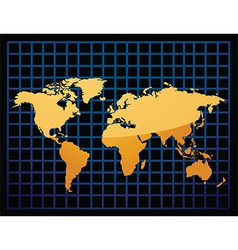 Geographical map vector