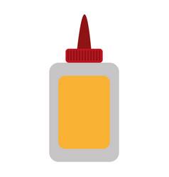 Glue bottle design vector