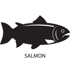 Simple fish design vector