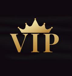 Vip club logo vector