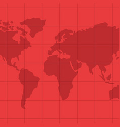 world map geography vector image