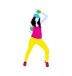 Break Dance Style Life vector image vector image