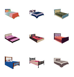 the set of images on the theme of sleep and rest vector image vector image