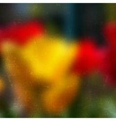 Yellow Tulip vector image