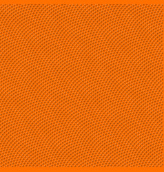 basketball seamless texture with bumps vector image