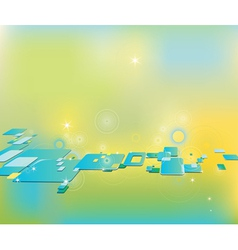 Clip art abstract background with squares vector image