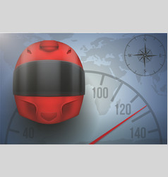 driver traveler background vector image