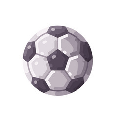 football icon soccer championship flat icon vector image