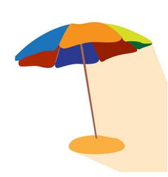 isolated umbrella icon vector image vector image