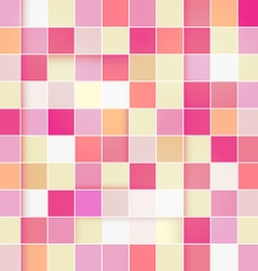 Retro Pink Pastel Square Background vector