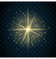 Shine star sparkle icon vector