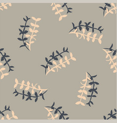 stylish seamless floral spring pattern vector image
