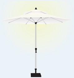 Sun umbrella vector