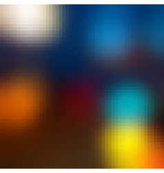 Abstract City Lights vector image
