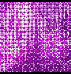 sparkling purple background vector image