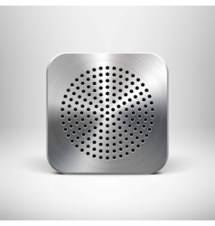 Speaker App Icon vector image