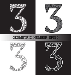 Three geometric vector