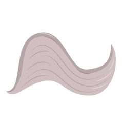 Curved wing icon cartoon style vector image vector image