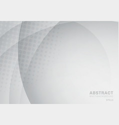 abstract circle and curve with halftone texture vector image