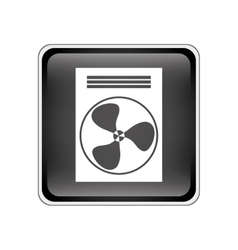 fan machine icon vector image