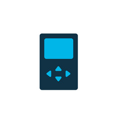 player icon colored symbol premium quality vector image
