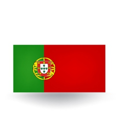 Portuguese Flag vector image