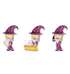 Wizard 3 vector image