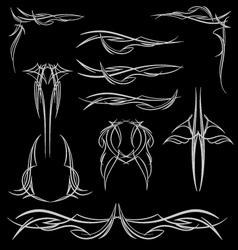 pinstripe-020 vector image vector image