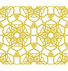 arabic muslim golden pattern with ramadan islam vector image
