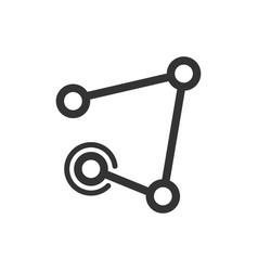Connectivity link icon vector