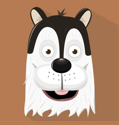 cute dog - vector image