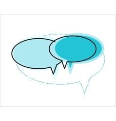 Dialog Windows Icon vector
