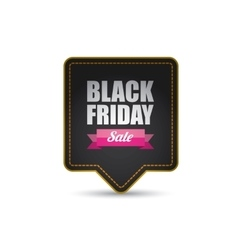 Black Friday sale poster or banner vector