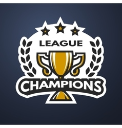 Champions League Sports logo vector