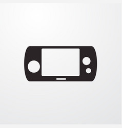 Game tablet icon vector