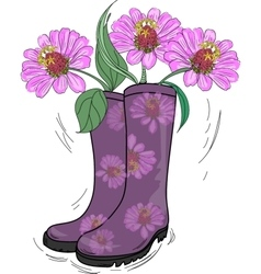 Gumboot Drawing vector