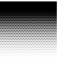 Halftone dots pattern comic points fade vector