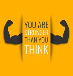 Motivational fitness poster vector