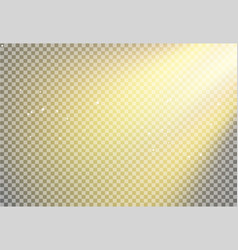 Sun light flare background effect sunlight ray vector