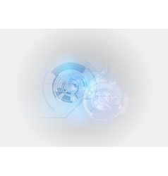 abstract tech light blue vector image vector image