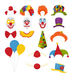 party birthday or 1th april - fool s day - vector image
