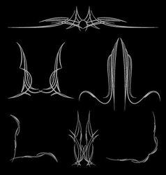 Pinstripe-025 vector