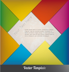 Design template eps10 vector image vector image