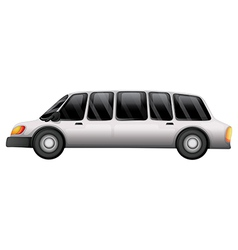 A tinted glass car vector