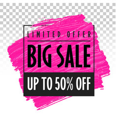 big sale banner template trend eps vector image