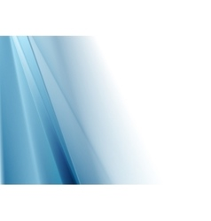 Bright blue white gradient abstraction vector