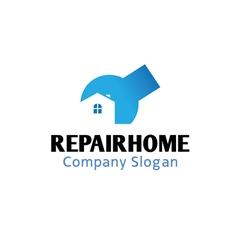Repair Home Design vector