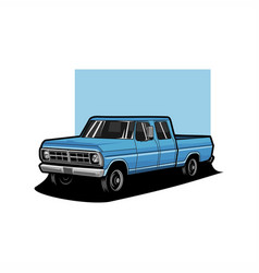 truck pickup vector image