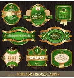 ornate frames vector image vector image